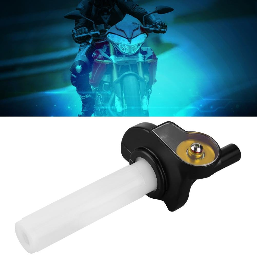 D KIMISS Twist Gaspedal Gasgriff 22mm Motorrad Visuelle Gasgriff Twist Gas Gasgriff f/ür 50cc-160cc ATV Dirt Bike