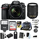 Nikon D7500 Digital SLR Camera and Nikkor 18-140mm VR Lens Bag and 64GB Card and Flash and Accessory Bundle Review