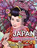 Japan: An Adult Coloring Book with Japanese Cultural Designs, Beautiful Asian Women, Floral Kimono Dresses, and Relaxing Nature Scenes
