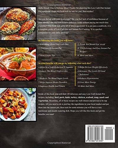 Amazon low carb diet instant pot cookbook 120 easy and amazon low carb diet instant pot cookbook 120 easy and delicious low carb ketogenic diet recipes to cracked weight loss regain confidence and have a forumfinder Image collections