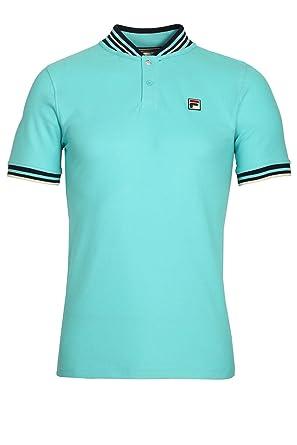 29fa52feaf6 Fila Vintage Skipper Baseball Polo Shirt
