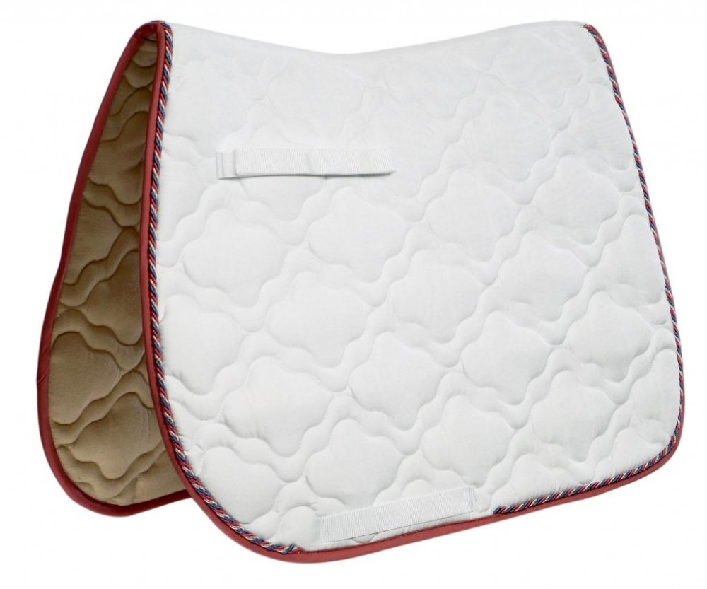 Navy Lime Full Navy Lime Full ROMA ECOLE CLOUD QUILT CLOSE CONTACT SADDLE PAD