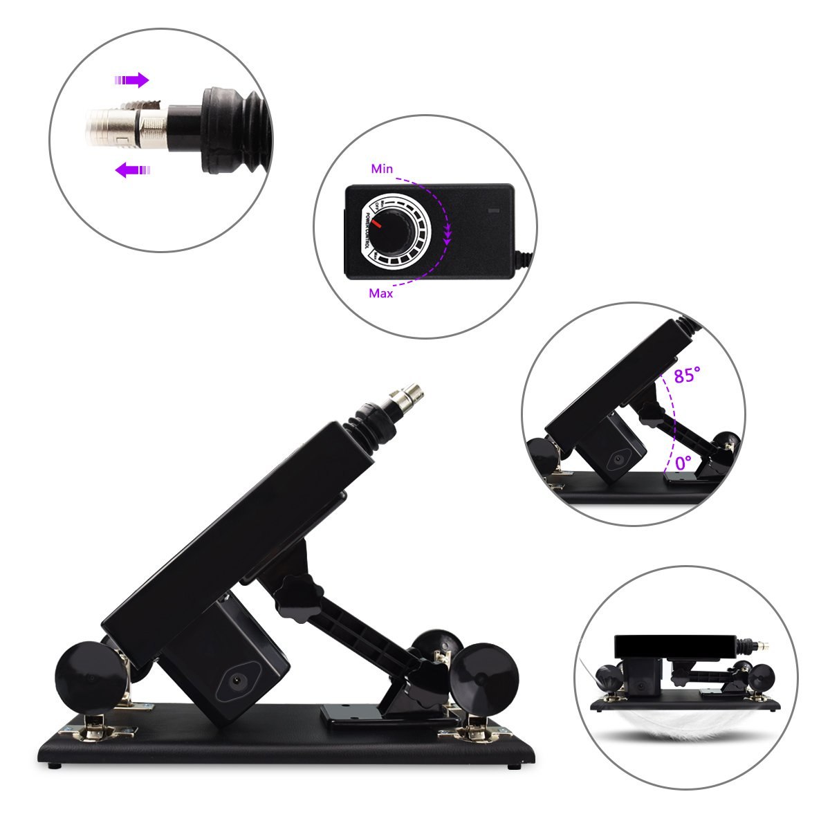 Female Sex Machine Toys Products Electric Automatic Attachments Men and Women Masturbation Sex Machine by iKenmu (Image #4)