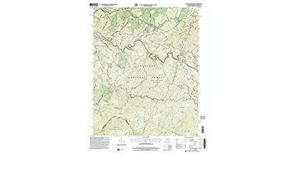 Historical 1:24000 Scale 7.5 X 7.5 Minute YellowMaps Bald River Falls TN topo map 2003 27.4 x 22 in Updated 2004