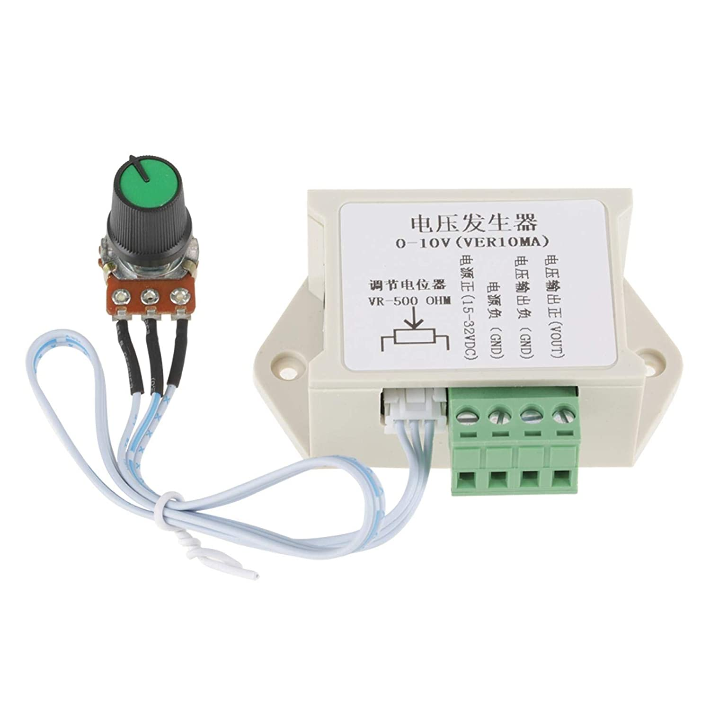 DC 0-10V 10mA Signalgeneratormodul Einstellbare analoge Spannung Spannungssignalgeneratormodul f/ür SPS-MCU usw