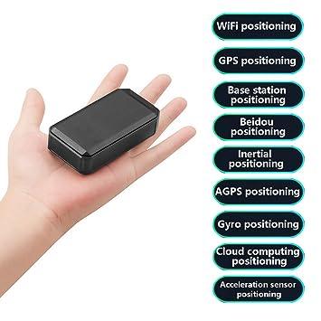 Mini Dispositivo Oculto del Perseguidor del GPS De La Huella En Tiempo Real para El Personal Vehículo Coche Anti-Perdido Anti-Engaño Servicio Multifuncional ...