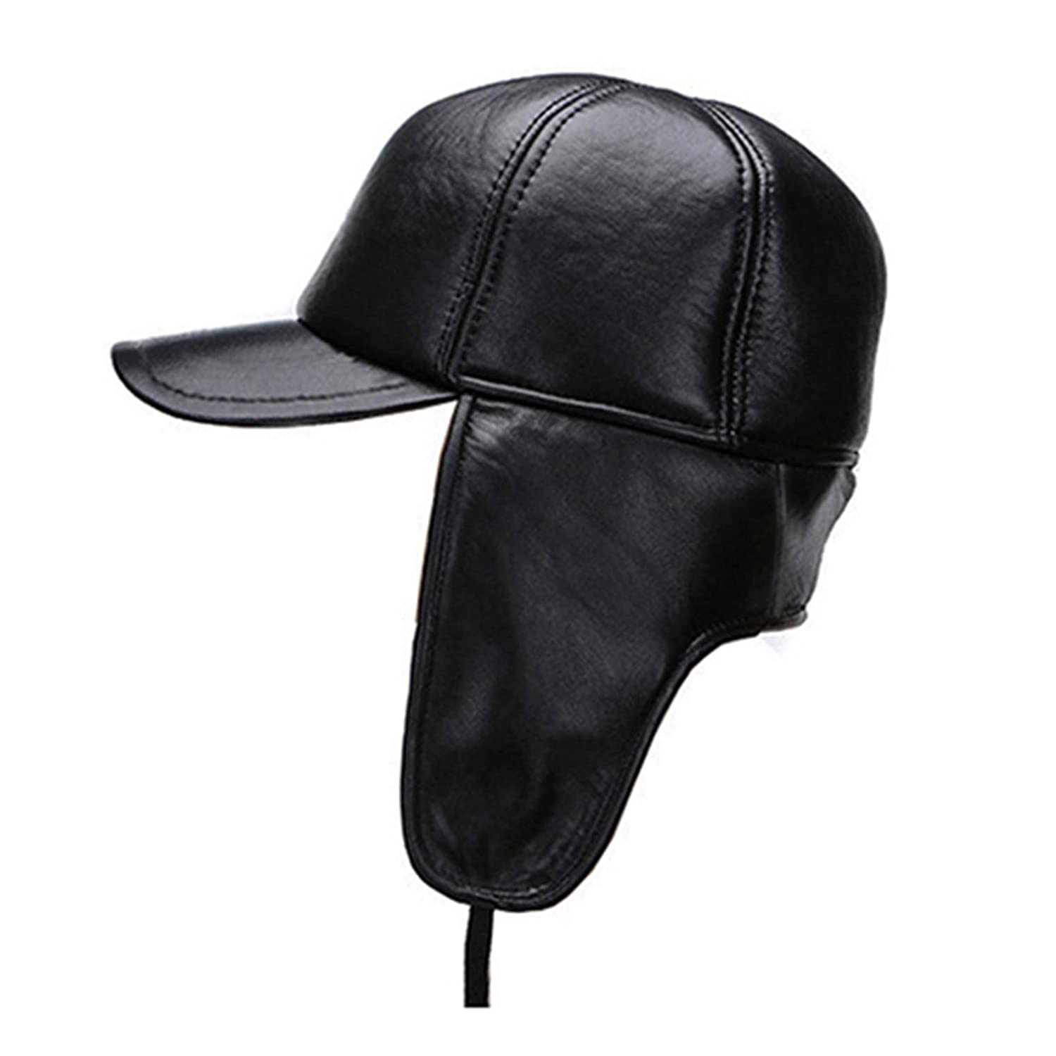 24ade628 SANOMY Unisex Bomber Trooper Trooper Trooper Trapper Hat,Winter Warm Thick  Male Ear Predect Cap Earflaps Outdoor Caps e320c7