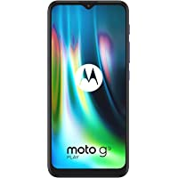 Moto G9 Play, 4GB RAM, 128GB Internal Memory, Dual SIM (Amazon Exclusive) - Sapphire Blue