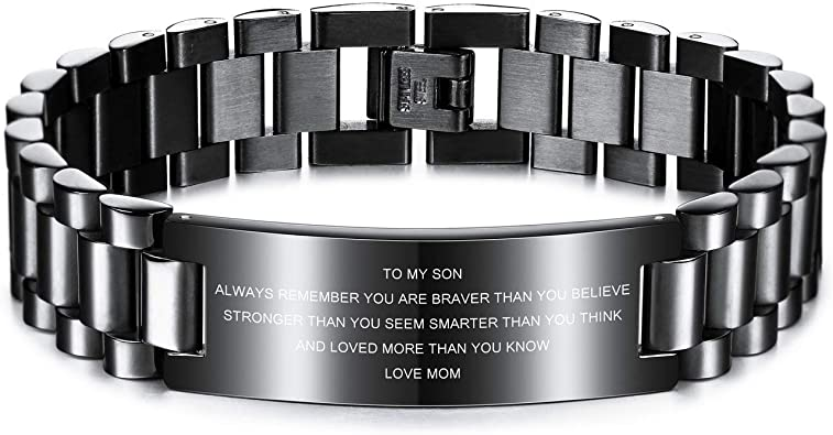 Bracelet For Son To My Son Gift Son Graduation Gift To My Son Bracelet Son Birthday Gift Mom To Son Birthday Gifts For Son