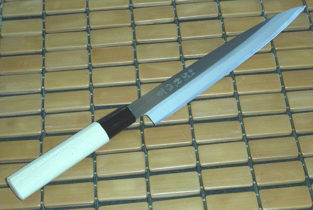 Japanese Stainless Steel Kitchen Sushi Yanagiba Sashimi Knife S-1550