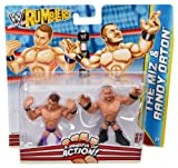 WWE Rumblers The Miz and Randy Orton Figure 2-Pack