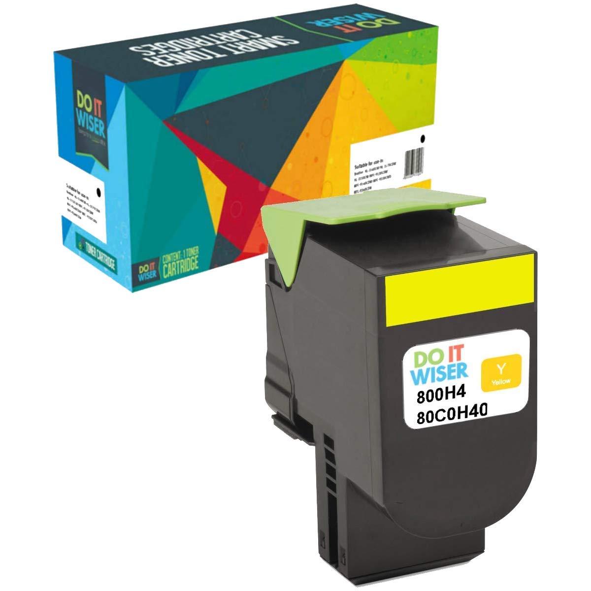 Toner Alternativo ( X1 ) Alta Capacidad Yellow 801HY CX410de CX410dte CX410e CX510dthe CX510dhe CX510de 80C1HY0000-Pagin