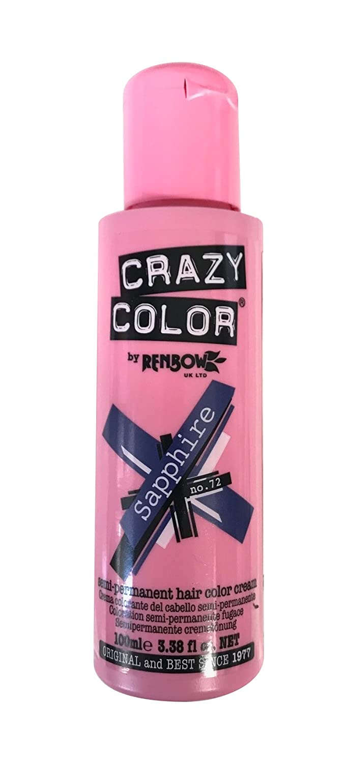Crazy Color Crema Colorante Vegetale per Capelli, Ice Mauve - 121 ml 002288