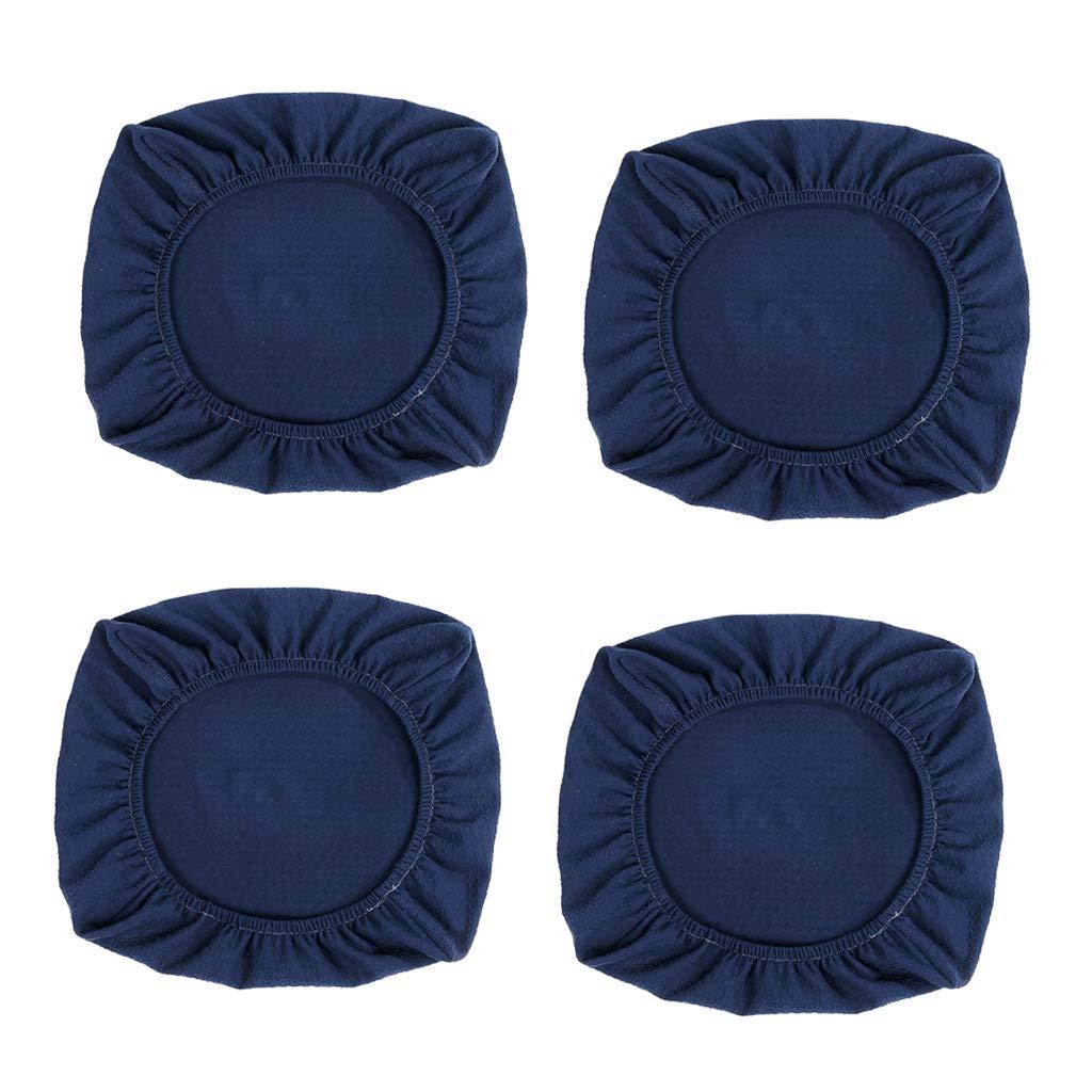 B Blesiya 4X Coprisedili per Sedie da Pranzo Coprisedili Imbottiti per Sedie da Cucina Come descritto Beige/_L