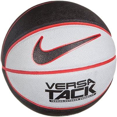 Nike Versa Tack - Balón de baloncesto, color negro/tamaño mediano ...