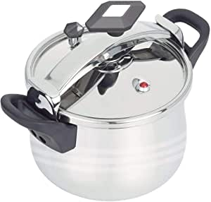 STAINLESS STEEL PRESSURE COOKER 15 LTR MADE IN ITALY