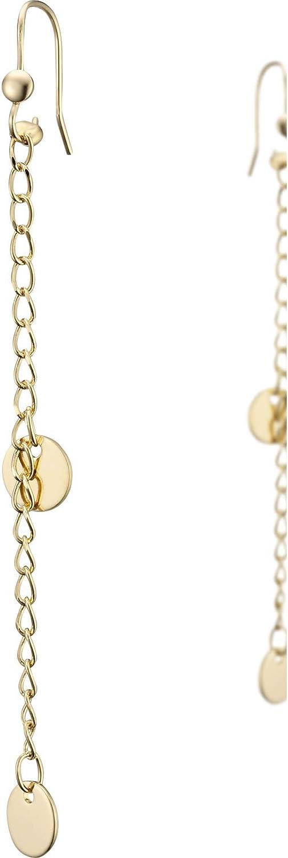 Nilaï - Pendientes de oro fino con diseño de Indra