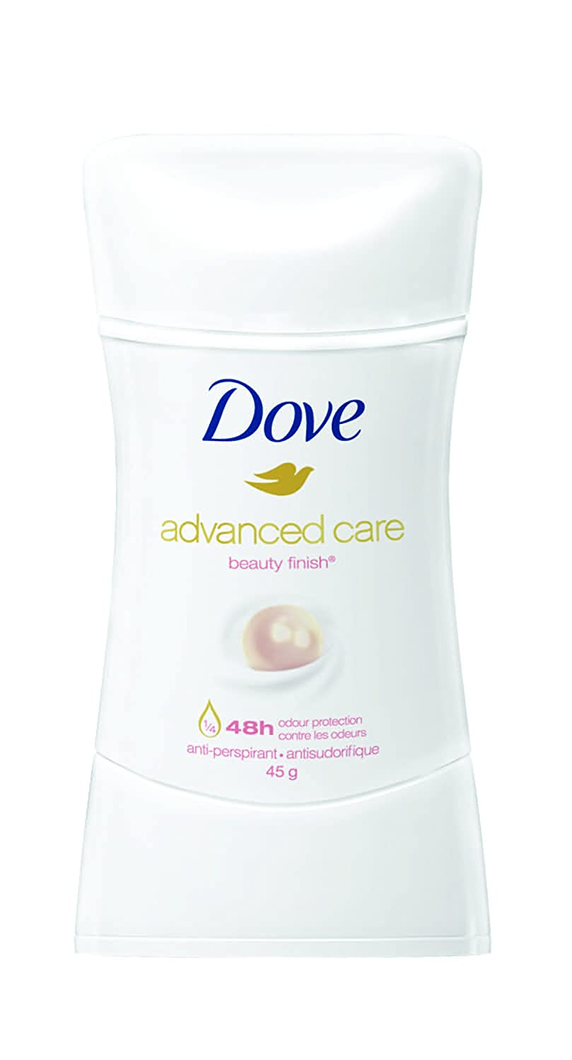 Dove Advanced Care Beauty Finish Antiperspirant Stick 45 GR