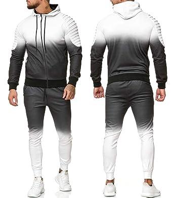 718805638f285 Cabin - Ensemble Jogging pour Homme Survêtement 1130 Blanc - XXL - Blanc