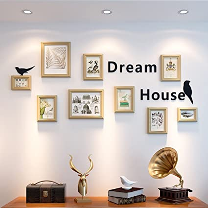 Amazon Com Zgp Home Wall Photo Frame Minimalist Modern Photo Wall