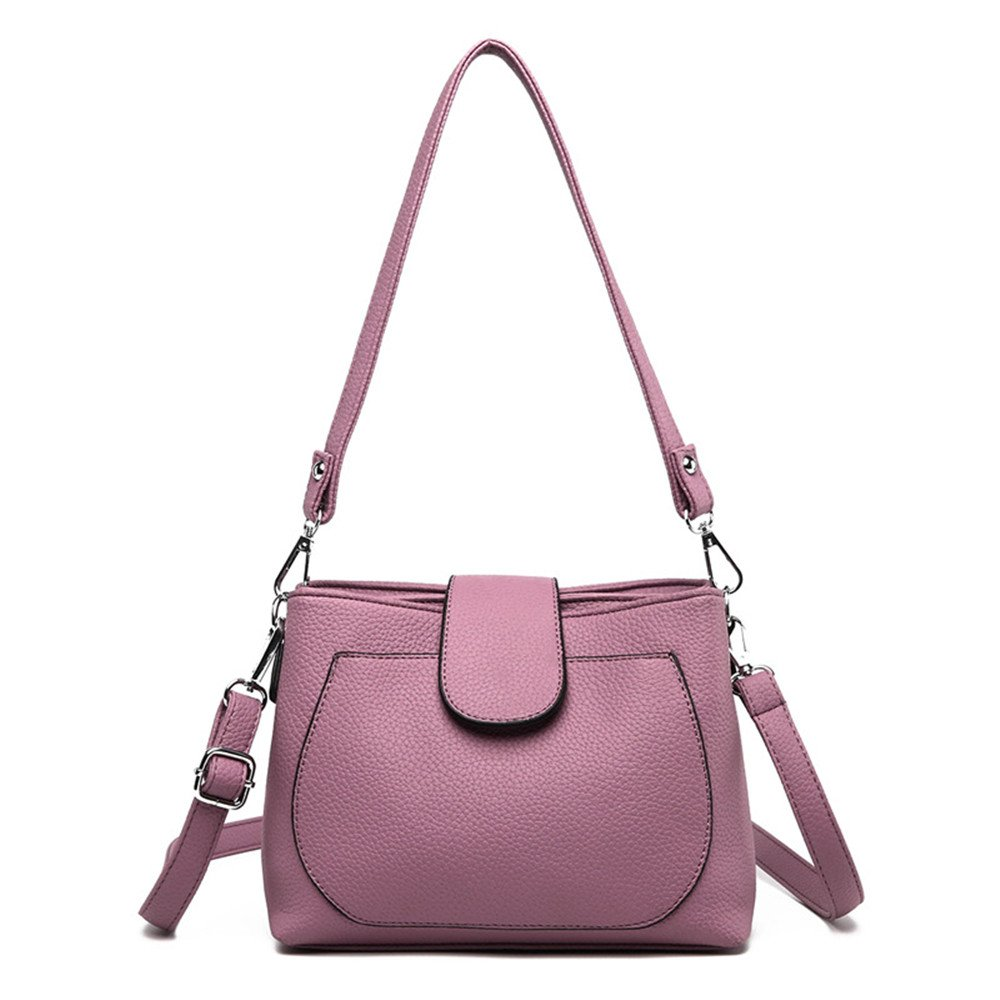 Lady'S Single Shoulder Bag,Violet,23X18X10Cm