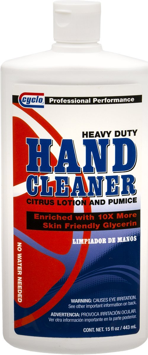 Cyclo Hand Cleaner: Heavy Duty Citrus Lotion and Pumice, 15 fl oz