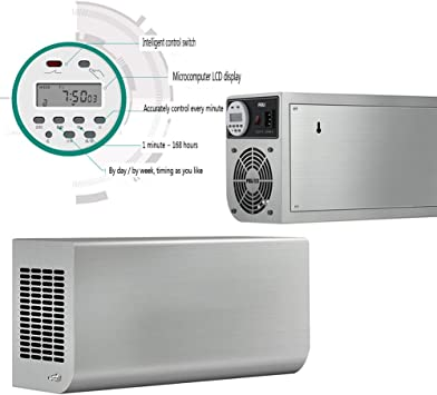 KEKE Generador De Ozono con Temporizador 3000Mg/H ...