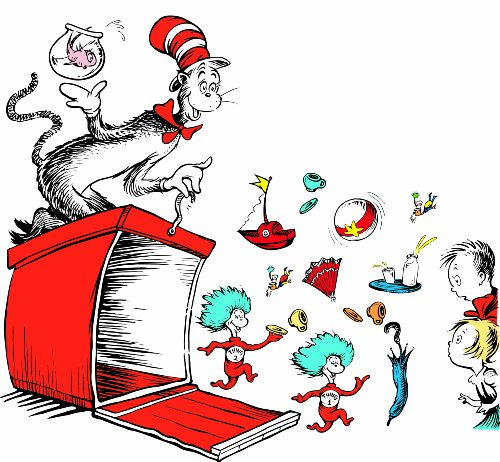 Cat In The Hat Characters - Eureka Teacher Supplies Cat in the
