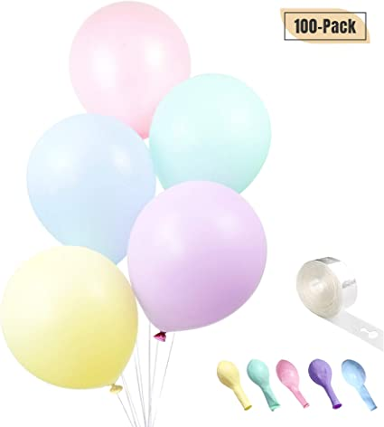 10 pcs Matte Latex Balloon Thick Multicolor Balloon 10 inch Party Gifts Birthday