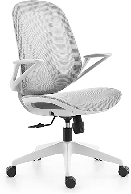 Xfxdbt Ergonomic Mesh Office Chair With Flip Up Arms For Teenagers Swivel Chair Mid Back Study Chair Comfortable Breathable Adjustable Height Children S Computer Chair Amazon De Kuche Haushalt
