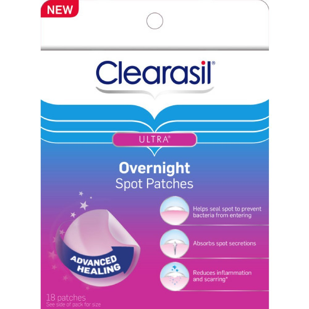 Clearasil Stubborn Acne Control 5in1 Pimple Patch, 18 Count