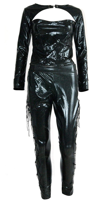 lixurs Grande codice Donne Vestiti in Europa e i Jeans Americani,Blu Marina,XL Gonne da danza