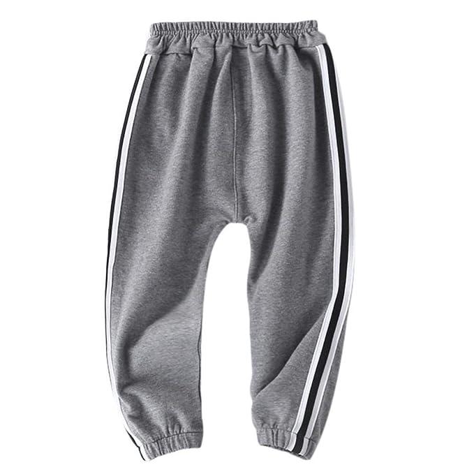 Amazon.com: KaiCran - Pantalón deportivo para bebé, diseño ...