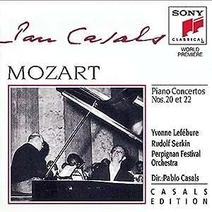 Mozart: Piano Concertos Nos. 20 & 22
