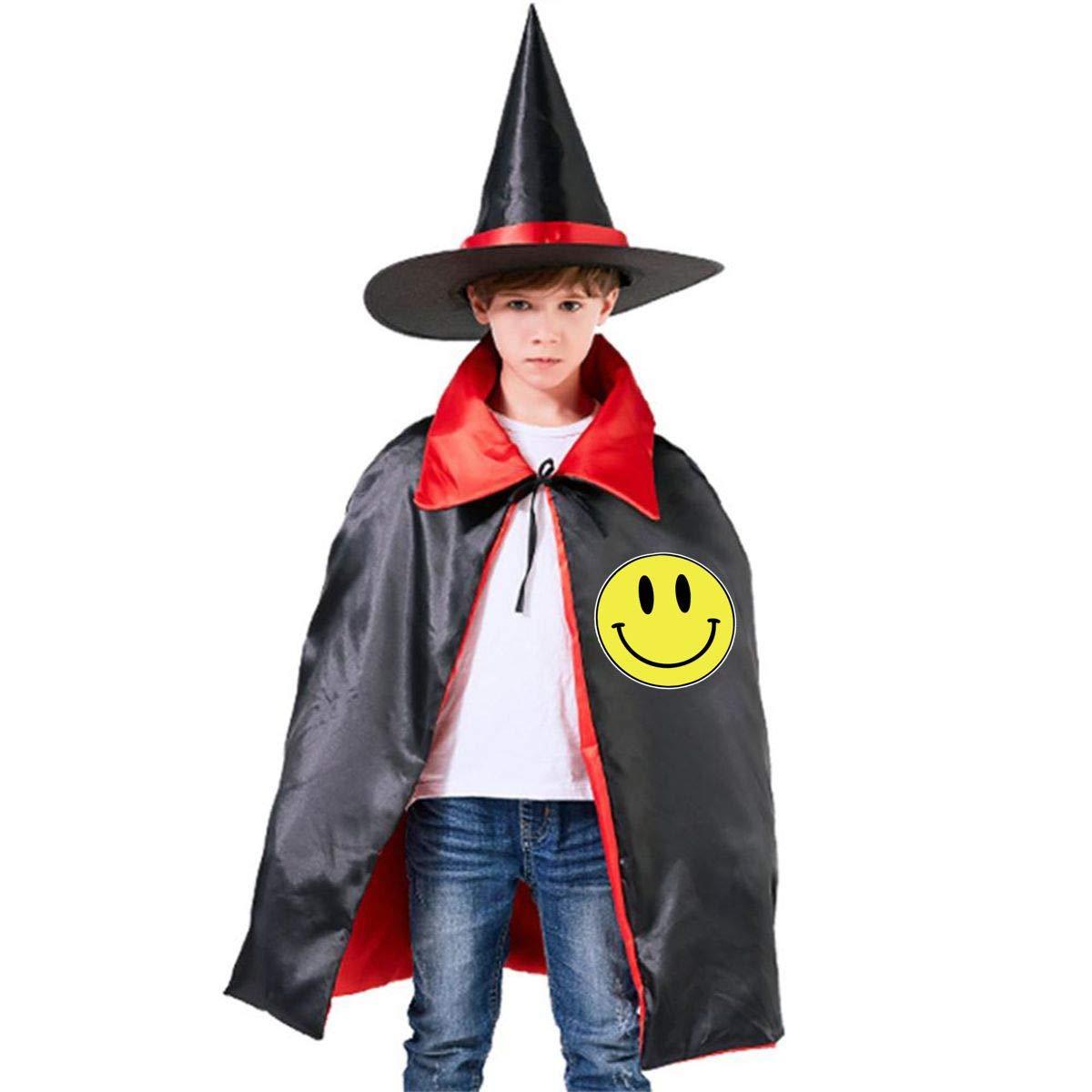 Amazon com: Emoji Smiley Face Kids Halloween Costumes Witch