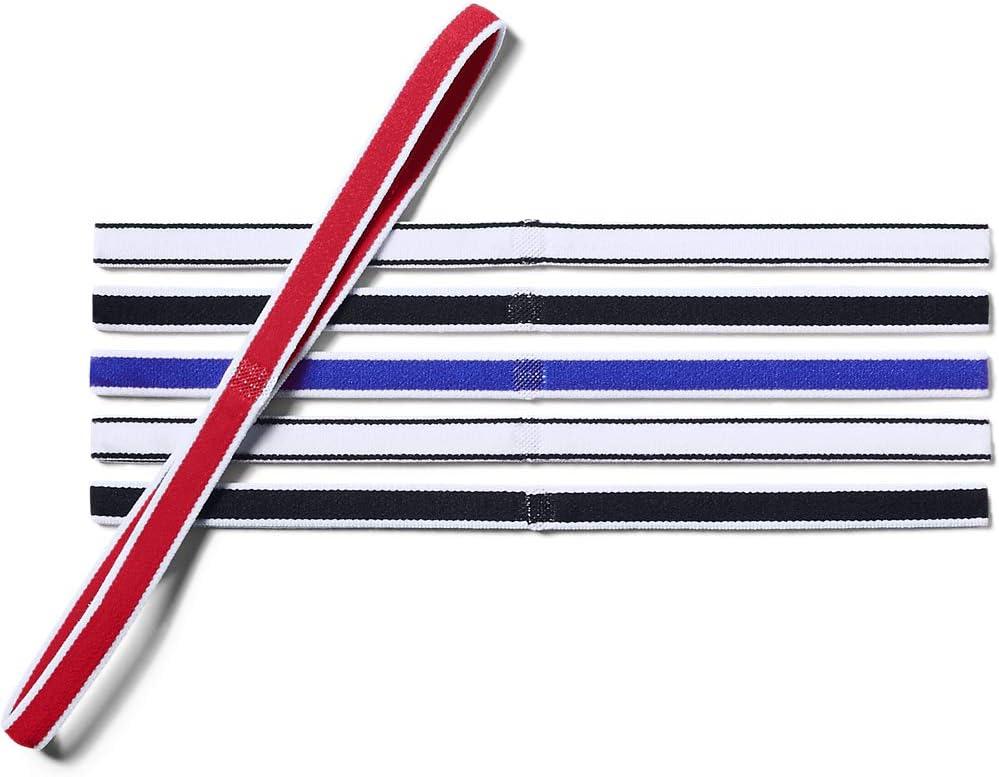 Under Armour Damen Ua Mini Headbands Pack elastische Haarb/änder 6pk rutschfeste Stirnb/änder f/ür Frauen im praktischen 6er-Set