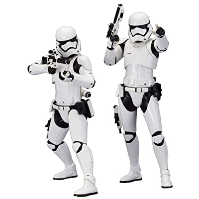 Kotobukiya Star Wars: Episode VII: The Force Awakens: First Order Stormtrooper ArtFX+ Statue (2 Pack): Toys & Games