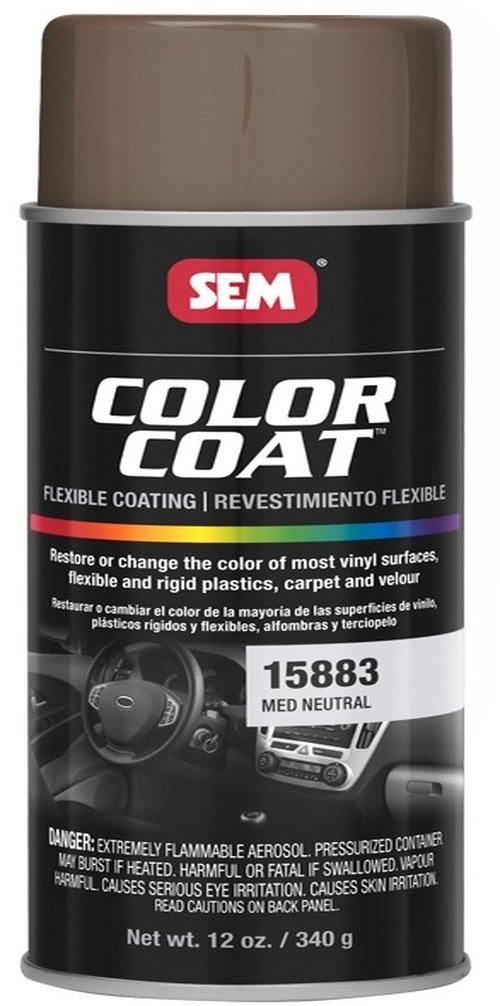 SEM 15883 Medium Neutral Color Coat - 12 oz.