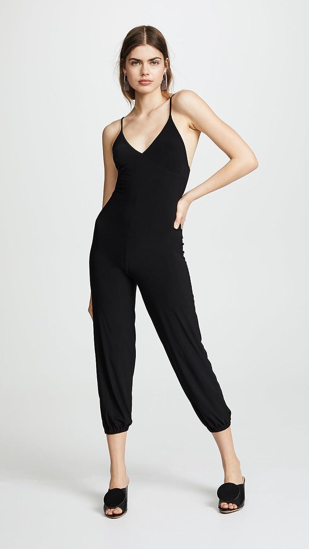 KAMALIKULTURE by Norma Kamali Womens Slip Jog Jumpsuit