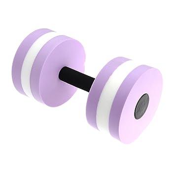 winomoaquatic ejercicio - Mancuernas (2 pesas de agua Eva Mano Bar para agua resistencia aeróbic pérdida de peso (rosa): Amazon.es: Deportes y aire libre