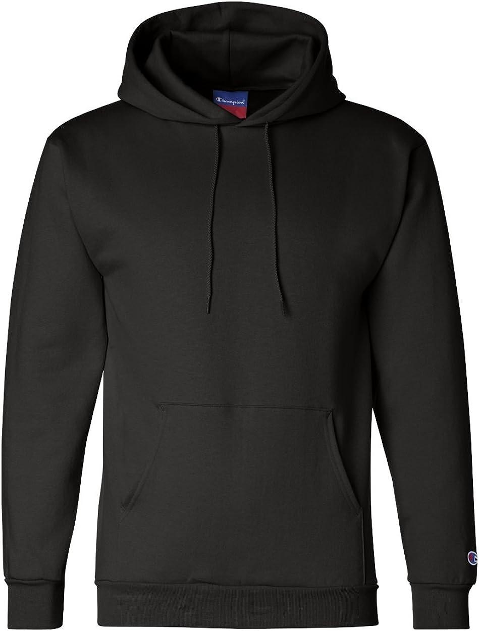 Champion Men's Double Dry Action Fleece Pullover Hood 3XL Black
