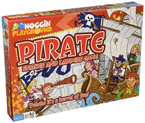 COBBLE HILL Pirates Snakes & Laders Math Game for Young Kids