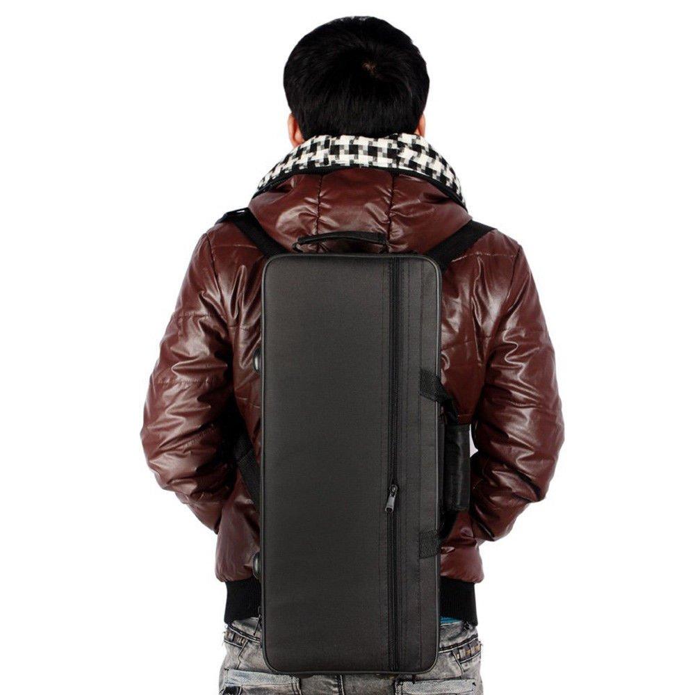 Water-resistance Gig Bag Box Backpack Case 600D for Trumpet Shoulder Straps Black New WINIT INS007