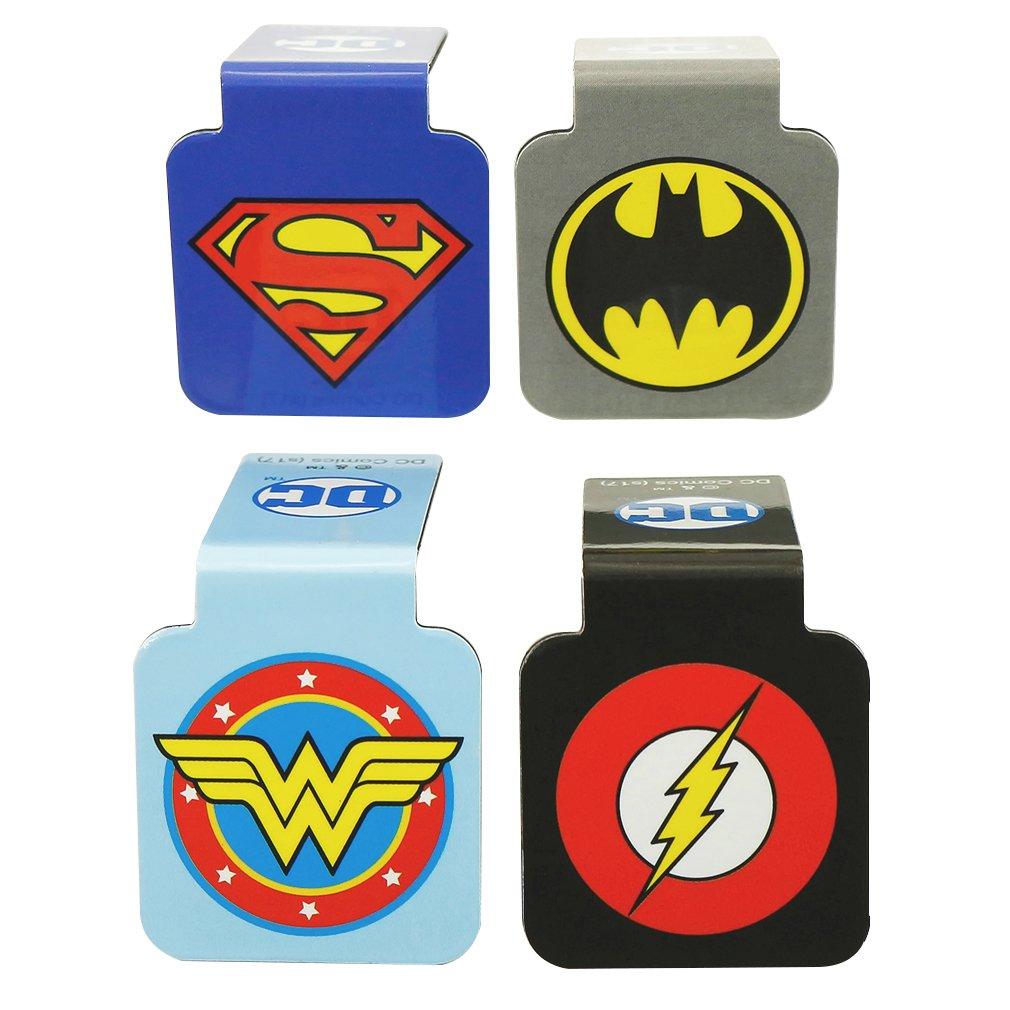 Ata-Boy DC Comics Logos Assortment #1 Set of 4