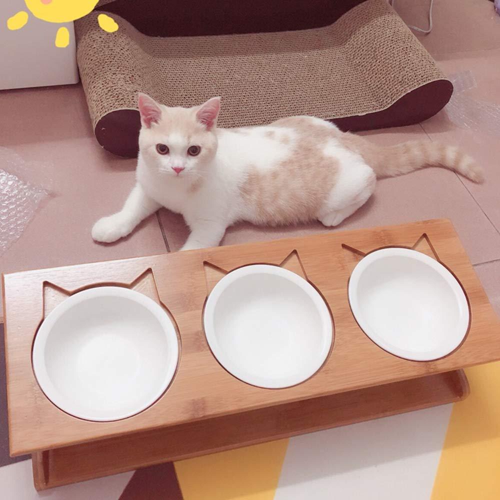 26 * 6cm Joyfeel Buy 1 Pieza Cuenco para Mascotas Gato Perros Taz/ón de Fuente de Acero Inoxidable