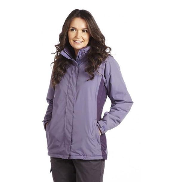 Regatta chaqueta de hípica para niños traje de neopreno para mujer Kendra II de chifón de/para botellas de vino de ciruelo: Amazon.es: Ropa y accesorios
