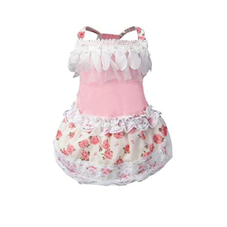 Buy Pet Clothes Ieason Hot Sale Dog Cat Bow Tutu Dress Lace Skirt
