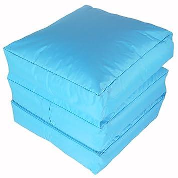Interieur Et Exterieur Impermeable Bleu Turquoise Lit Futon 3 Etages