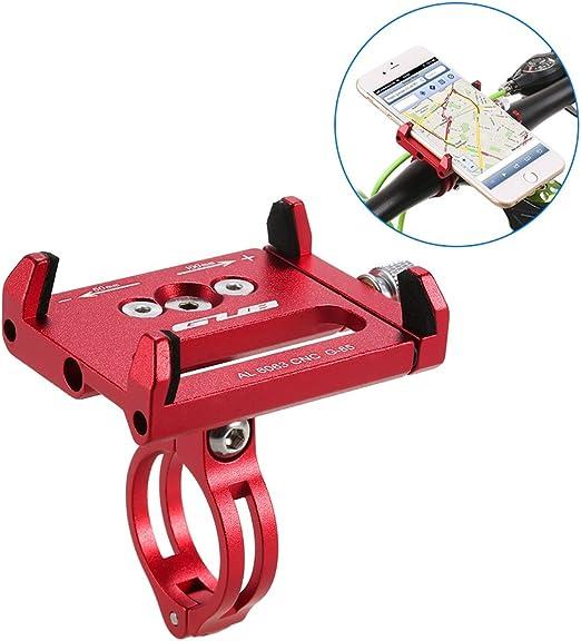 Lixada Mountian Bike Teléfono Montar Universal Ajustable de Bicicletas de Teléfono Celular GPS Montar Soporte de Soporte Abrazadera de la Horquilla: Amazon.es: Electrónica