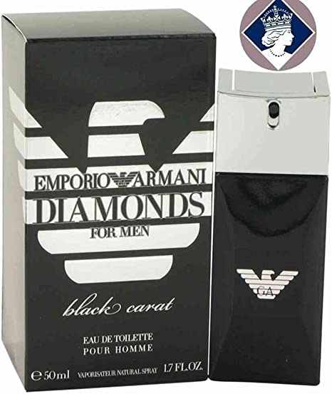 Giorgio Armani Diamonds For Men Black Carat Eau de Toilette Spray 50ml: Amazon.es: Belleza